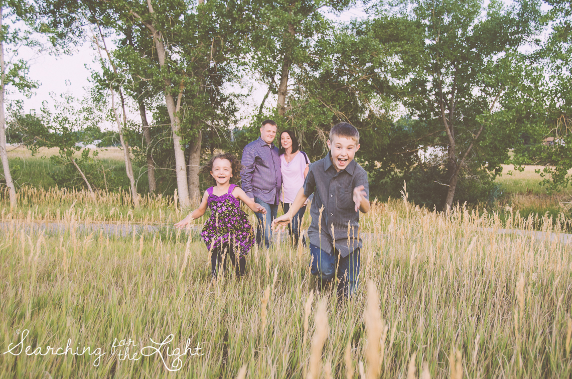 Denver Photographer shares photos from a Denver Family Picture Time