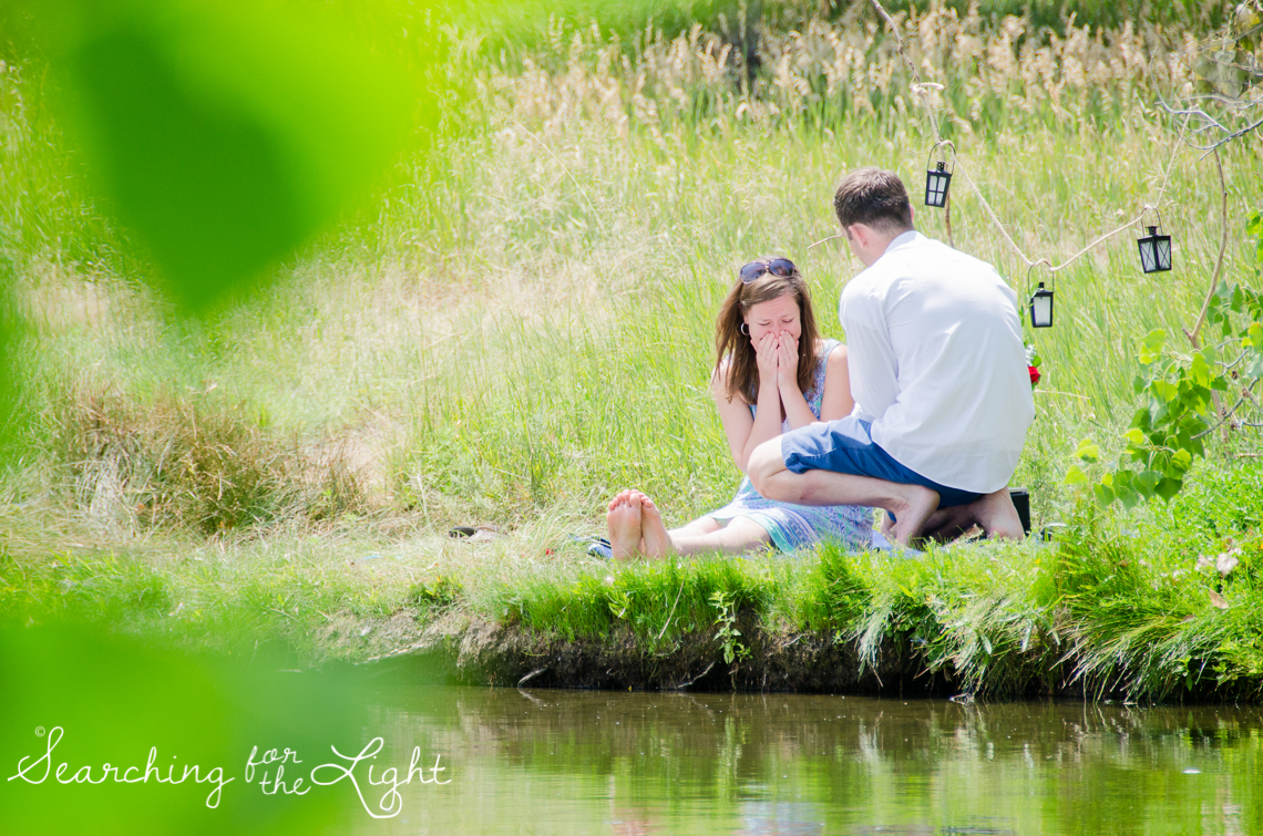 A Marriage Proposal Photographed by Denver Wedding Photographer