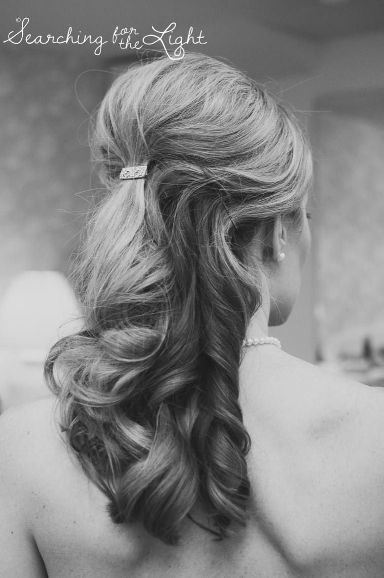 wedding hair Red Rocks Wedding Photography at Red Rocks Denver Colorado