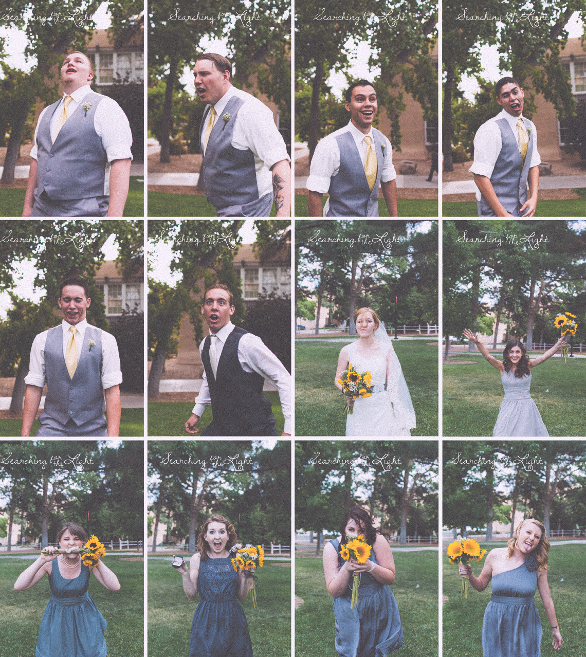 wedding party denver wedding photographer wedding party vintage