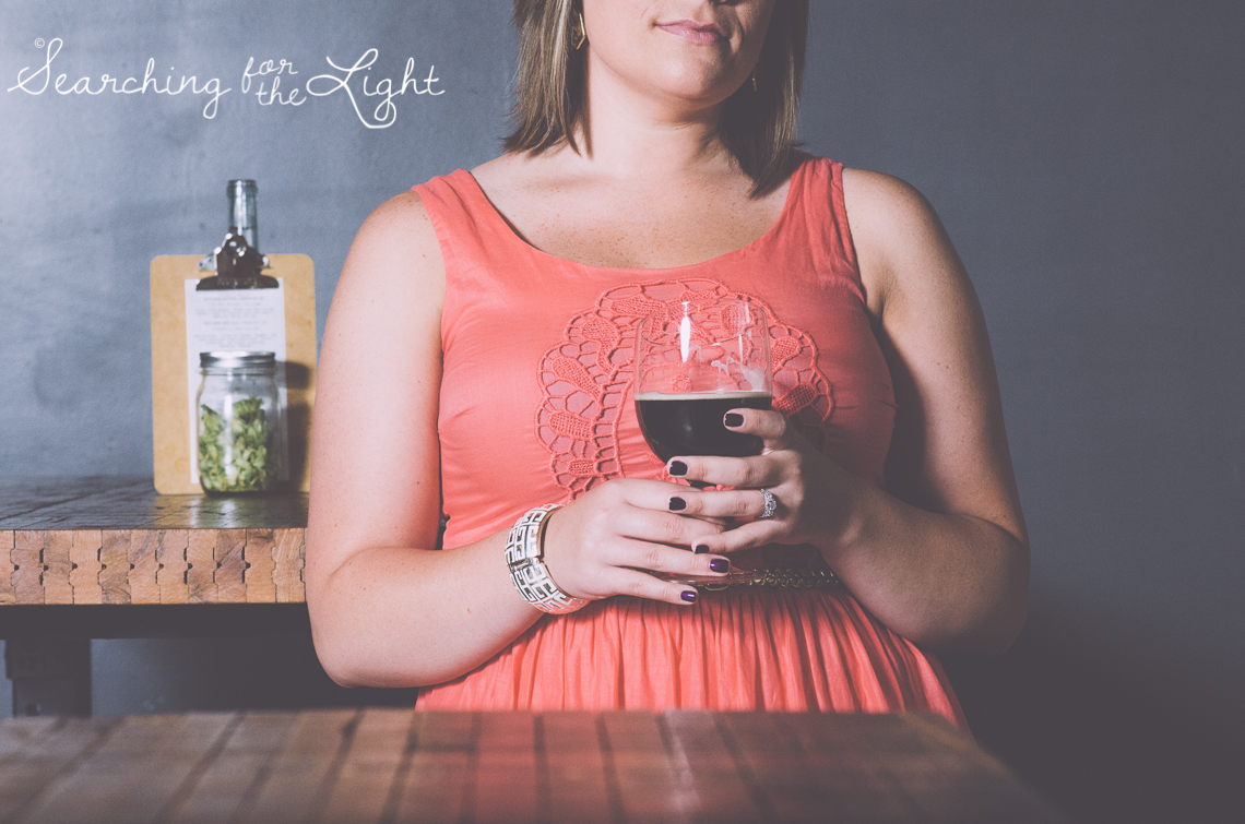 Unique engagement photo location, denver engagement photos, black shirt brewing co