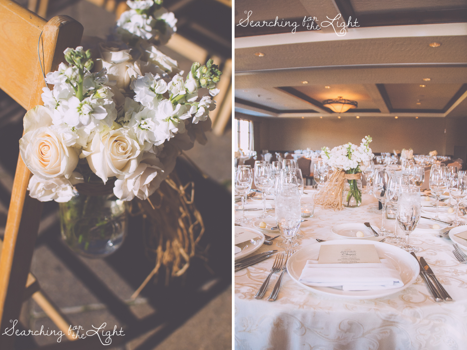 Fall Wedding photos and wedding decoration in Beaver Creek, CO by Denver Wedding Photographer