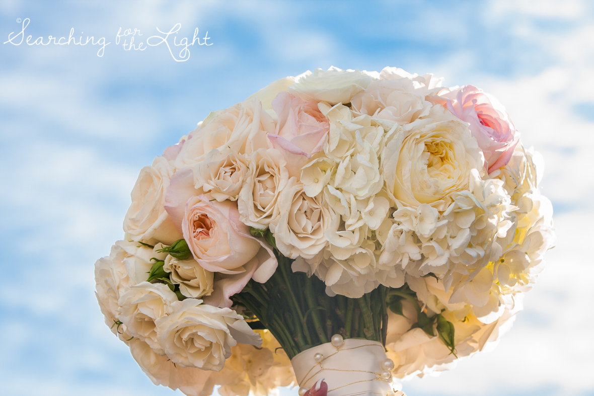 brides bouquet Fall Wedding photos in Beaver Creek, CO by Denver Wedding Photographer