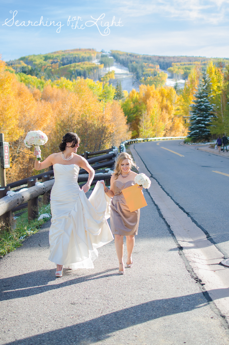 Fall Wedding photos in Beaver Creek, CO by Denver Wedding Photographer