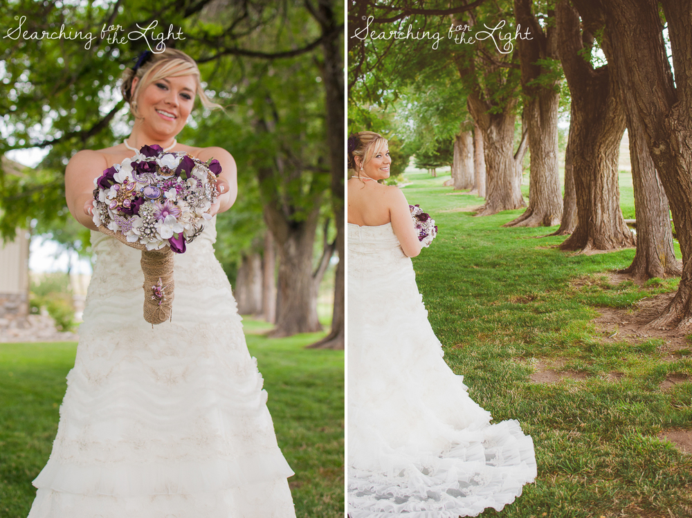 bridal pictures at Shupe Homestead Wedding Photo by Denver Wedding Photographer