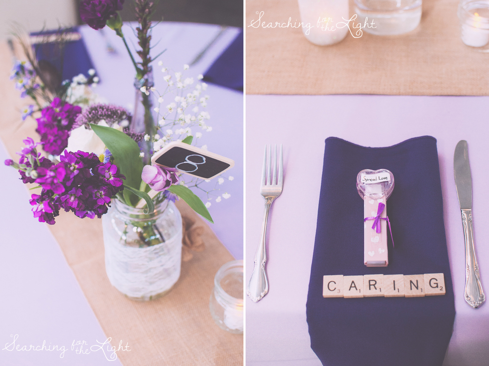 Unique center pieces including pez dispenders Shupe Homestead Wedding Photo by Denver Wedding Photographer