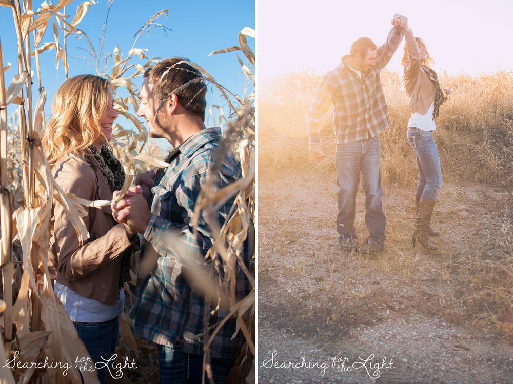 Denver Field Engagement Photos, dreamy engagement photos, whimsical engaegment photos, by Denver wedding Photographer