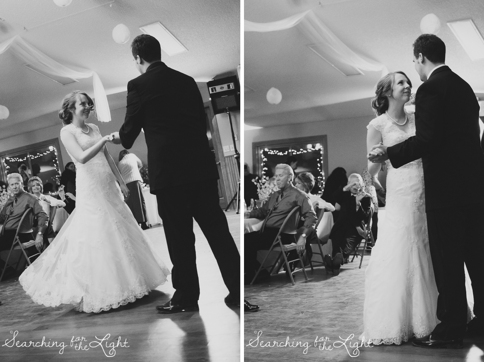 First Dance Snow Mountain Ranch Wedding Photo Fall Wedding by Denver Photographer
