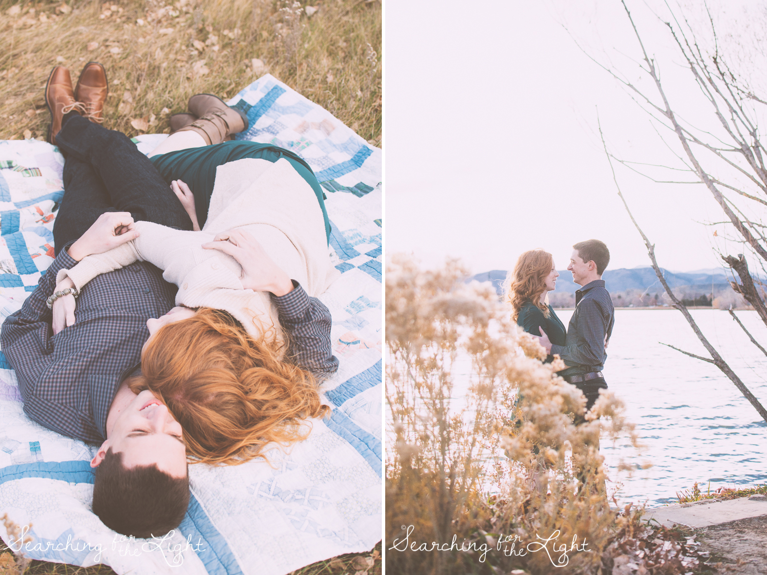 Denver Engagement Photos by Denver wedding photographer at Crown Lake