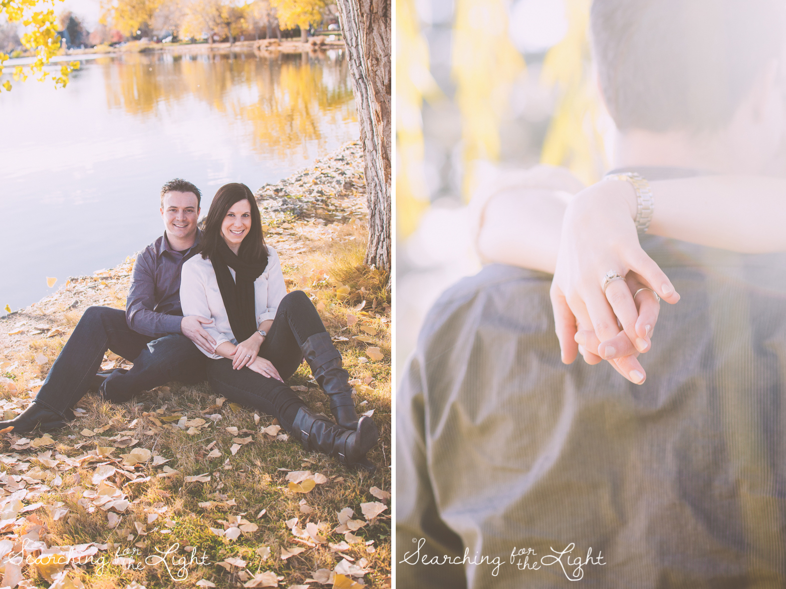 Denver Engagement photos at Wash Park Dreamy, Romantic Photos