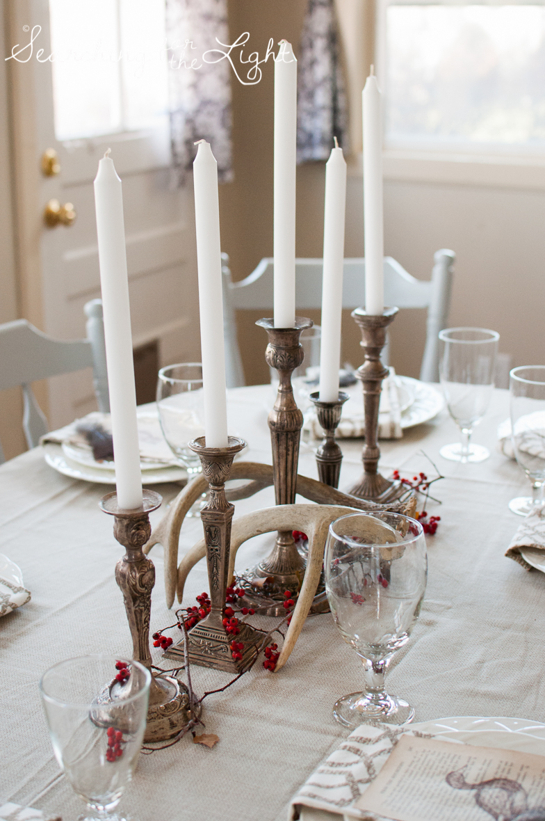 winter wedding table designs