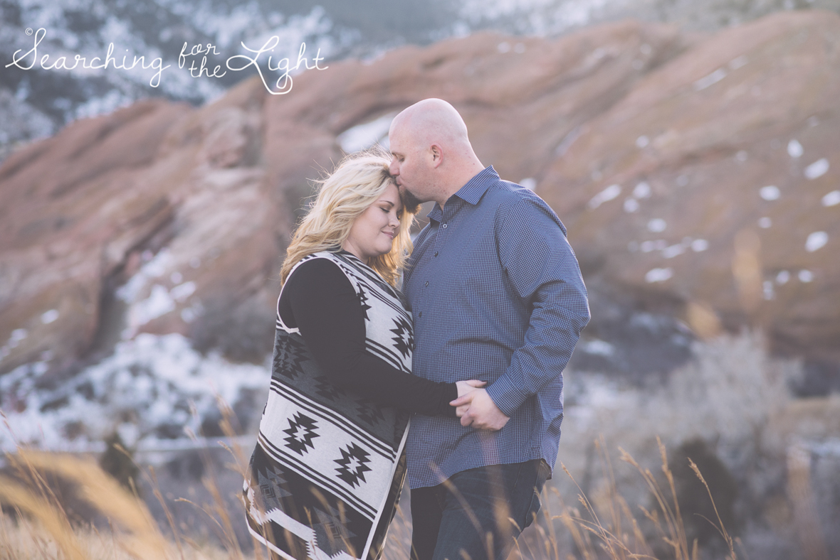 Denver Engagement Photos by Denver wedding photographer at Red Rocks