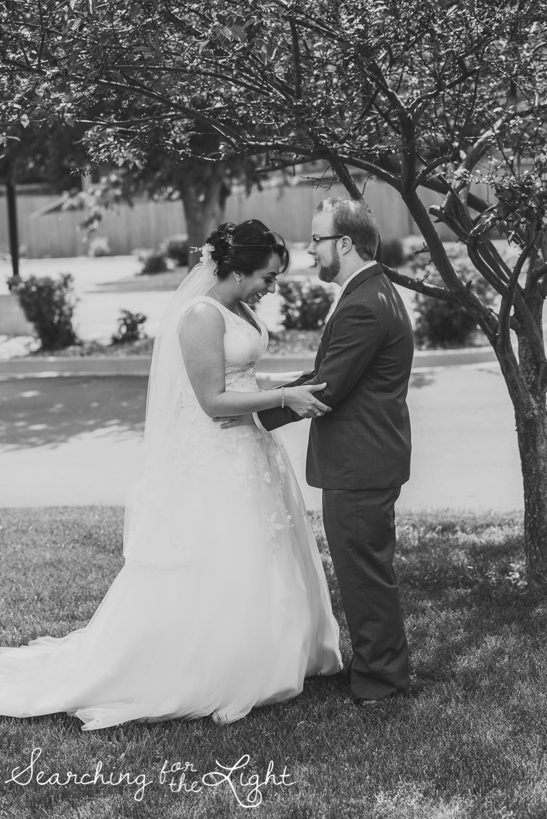 Denver wedding photographer, denver wedding photos, first look