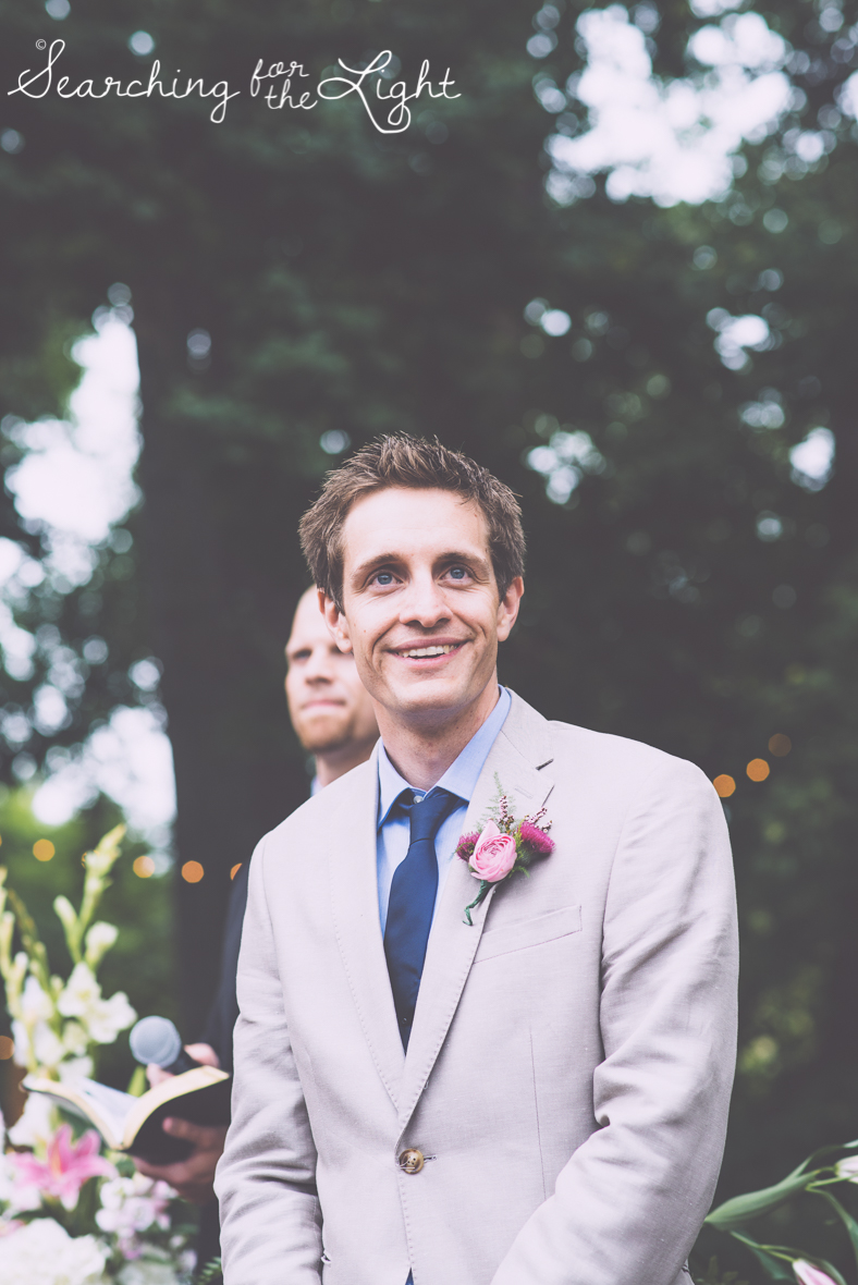 grooms face,ceremony lyons farmette wedding by colorado wedding photographer