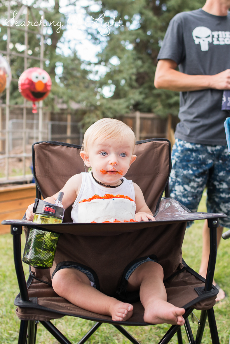 colorado baby photographer jaxon turns one
