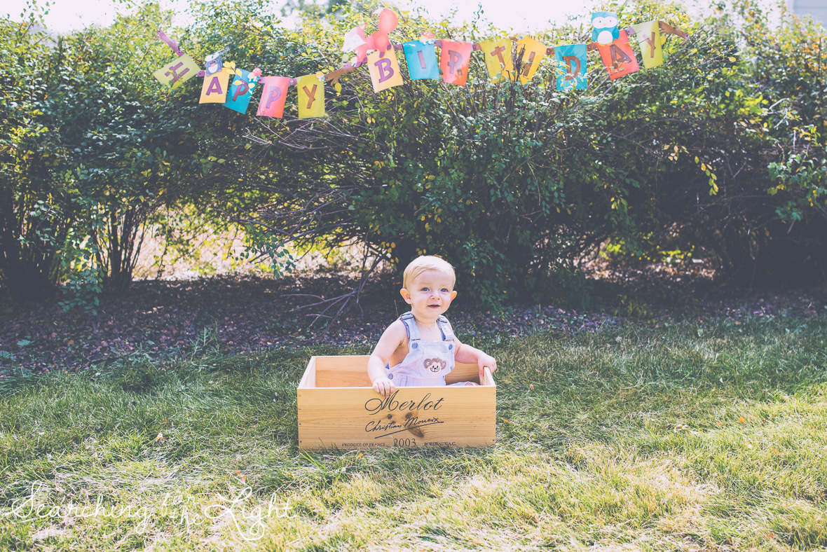 denver baby photographer, fun playful cute baby boy one year old baby photos