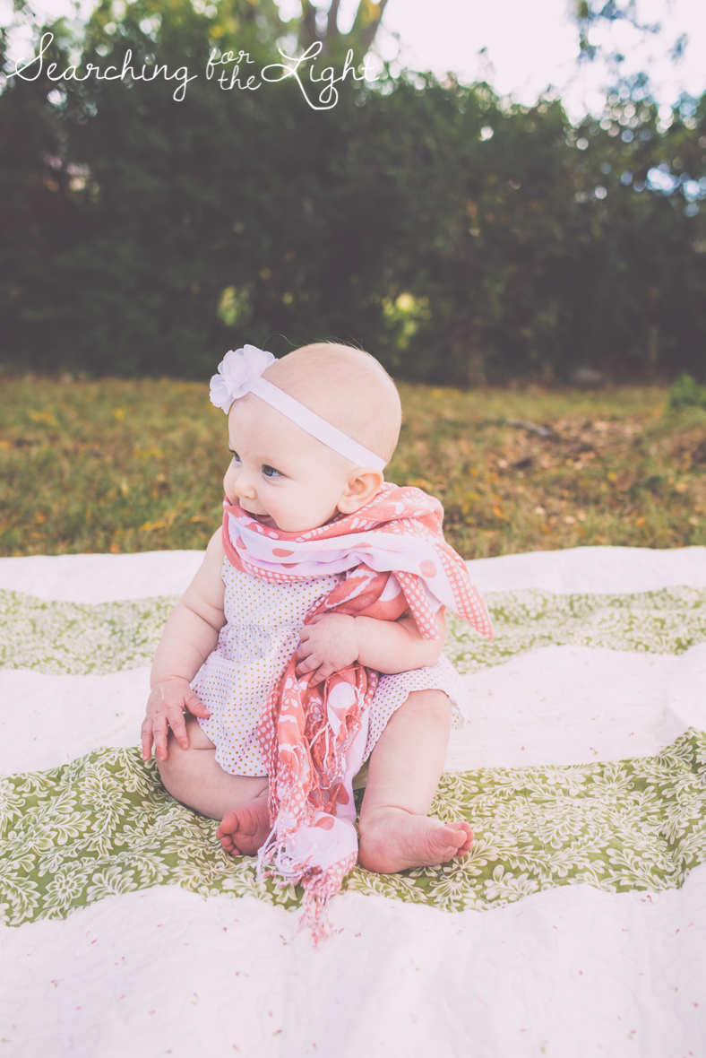 denver baby photographer six month old cute baby photos