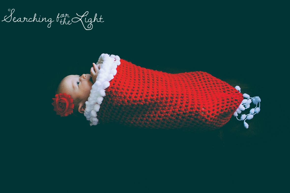 denver baby photographer, newborn photos, christmas newborn photos