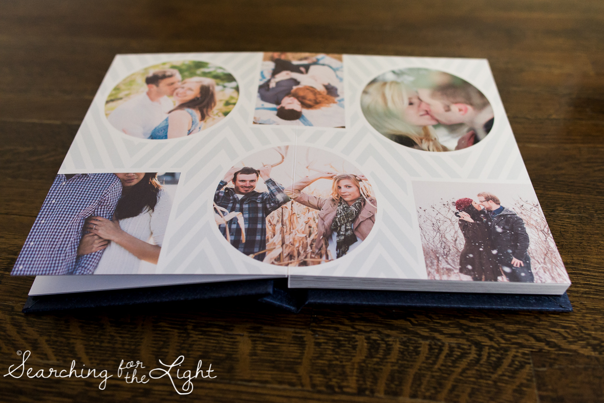 Unique Creative Wedding Album Sample by Denver wedding photographer