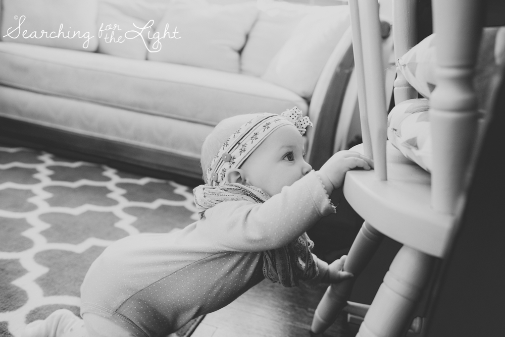7 month old baby girl photos by denver baby photographer winter baby photos