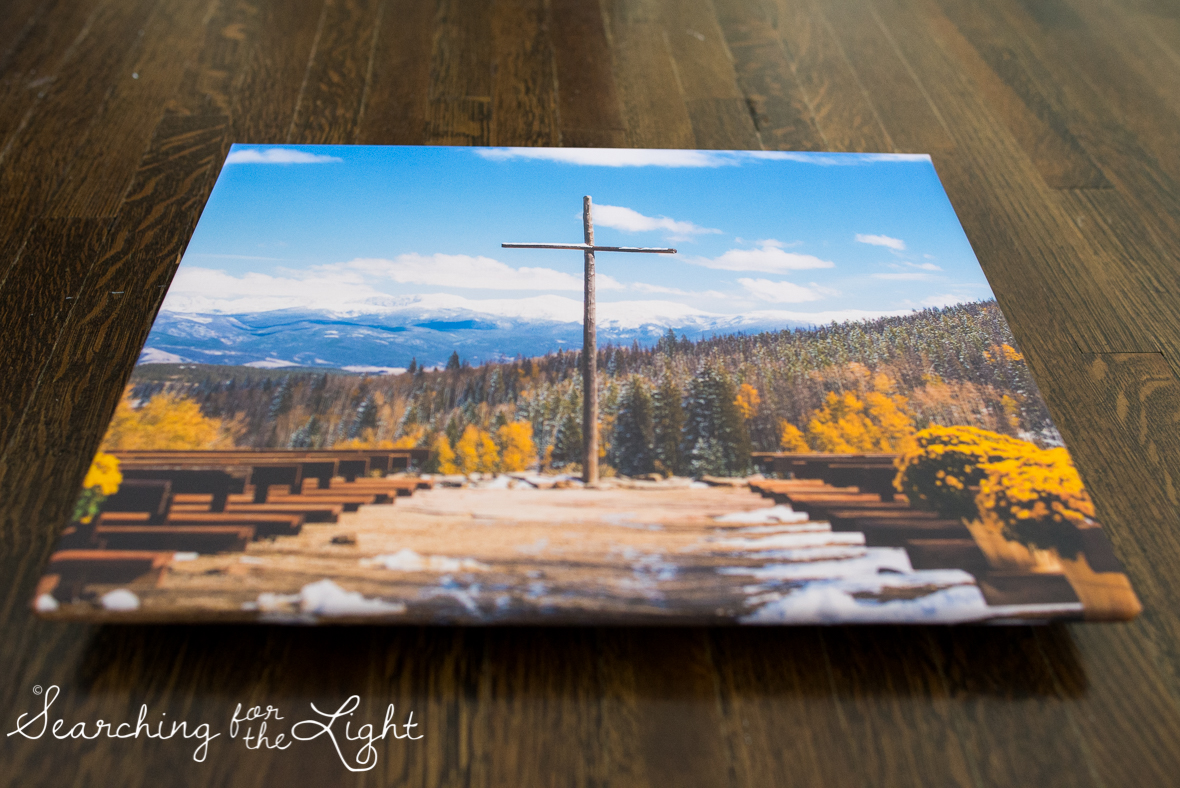 snow mountain ranch wedding photos in the fall, float wrap art work