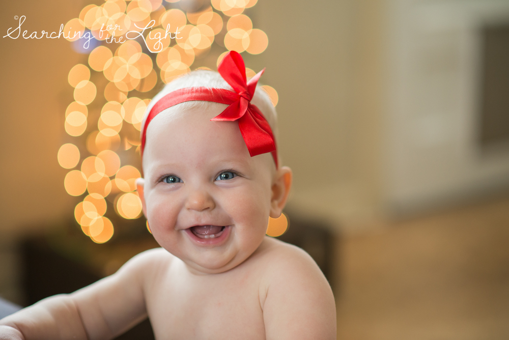 denver baby photographer, December baby photos, christmas baby photos