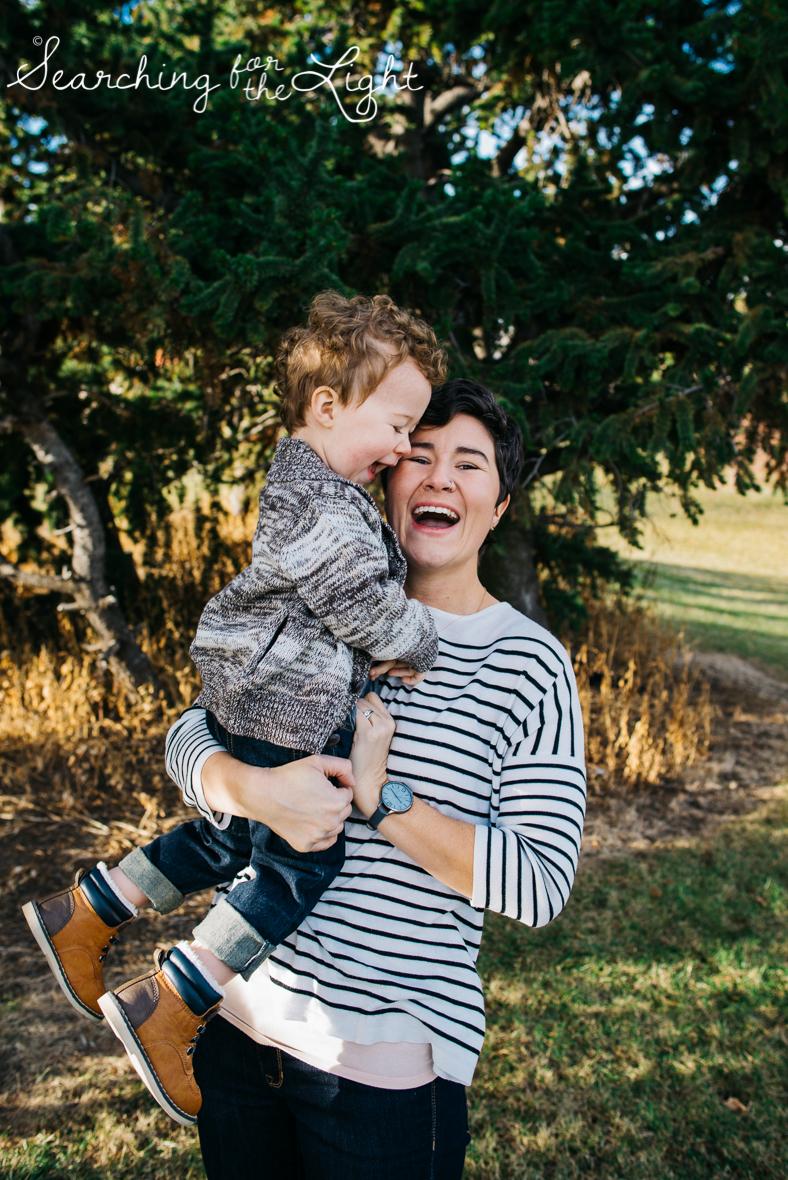 denver photographer, family of three, fun family photos, ruby hill family photos