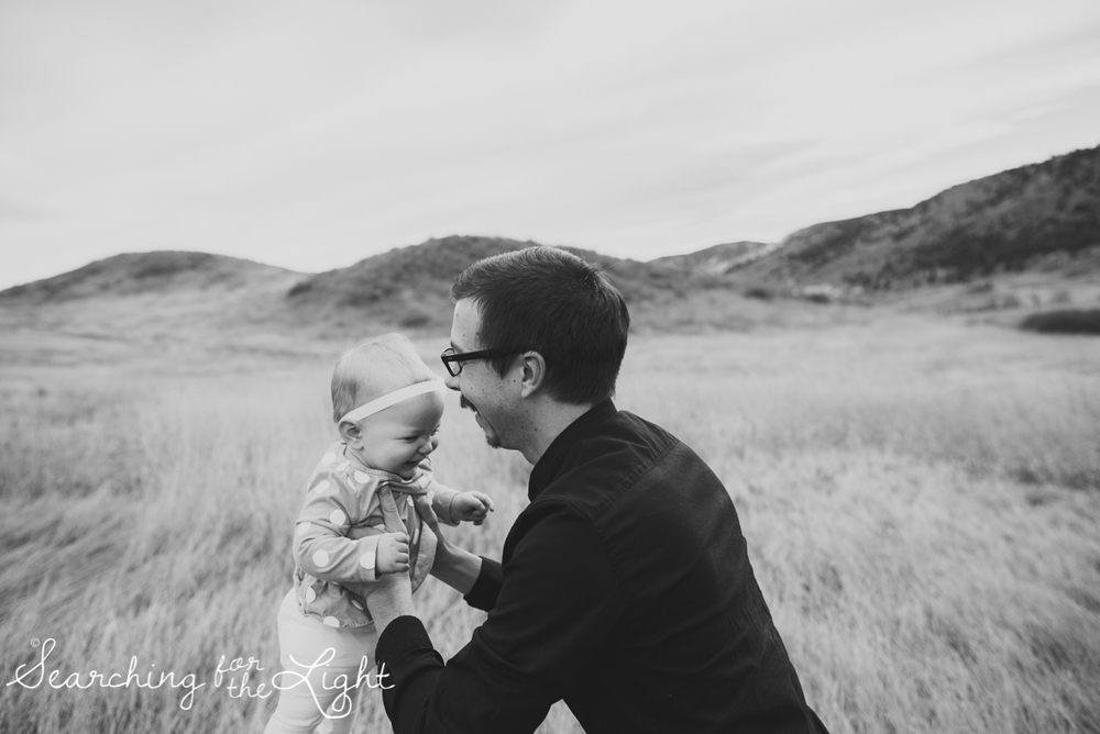 colorado baby photographer, denver baby photographer, baby and dad, 10 month old baby photos