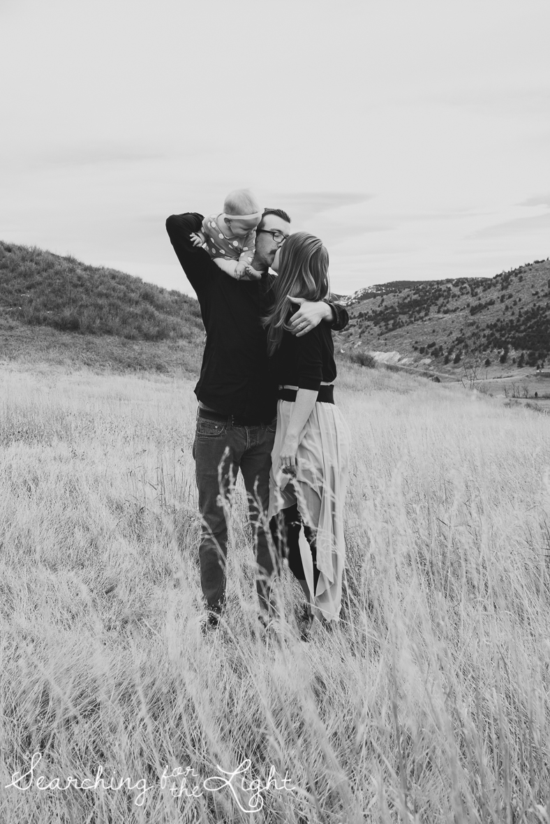 colorado baby photographer, denver baby photographer, family of three