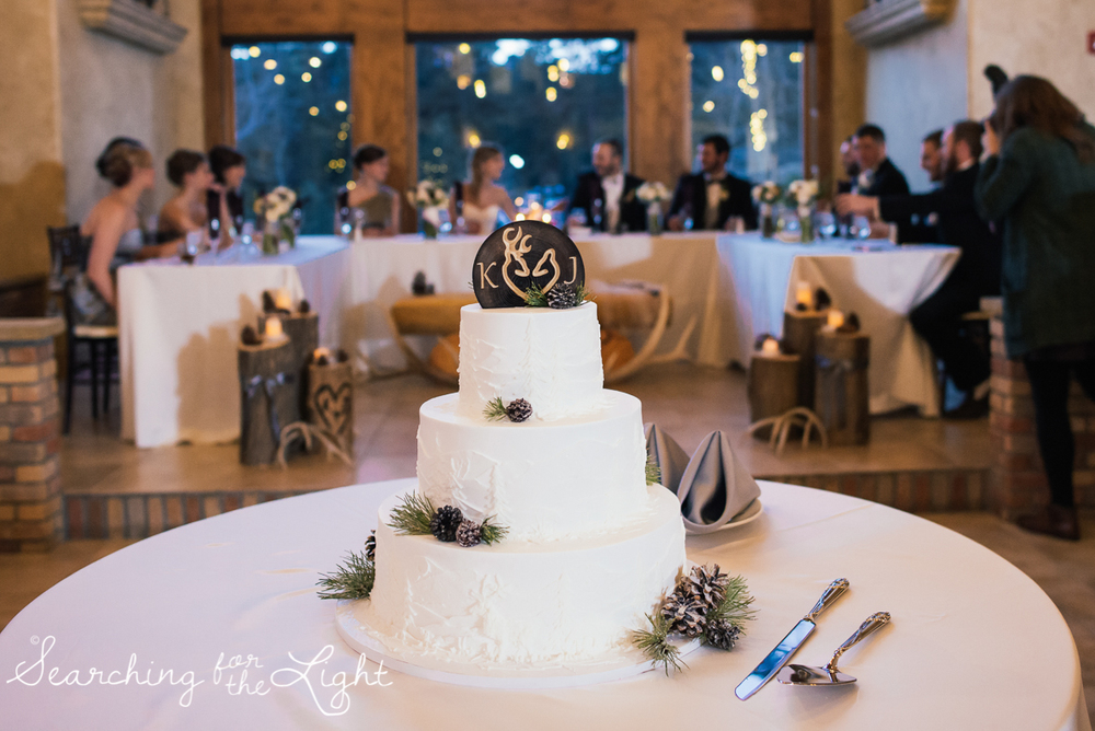 colorado wedding photographer, winter estes park wedding, winter wedding, winter wedding ideas, antler decorations