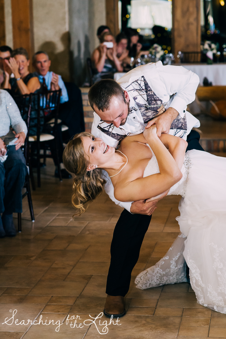 colorado wedding photographer, winter estes park wedding, winter wedding, reception, first dance photos