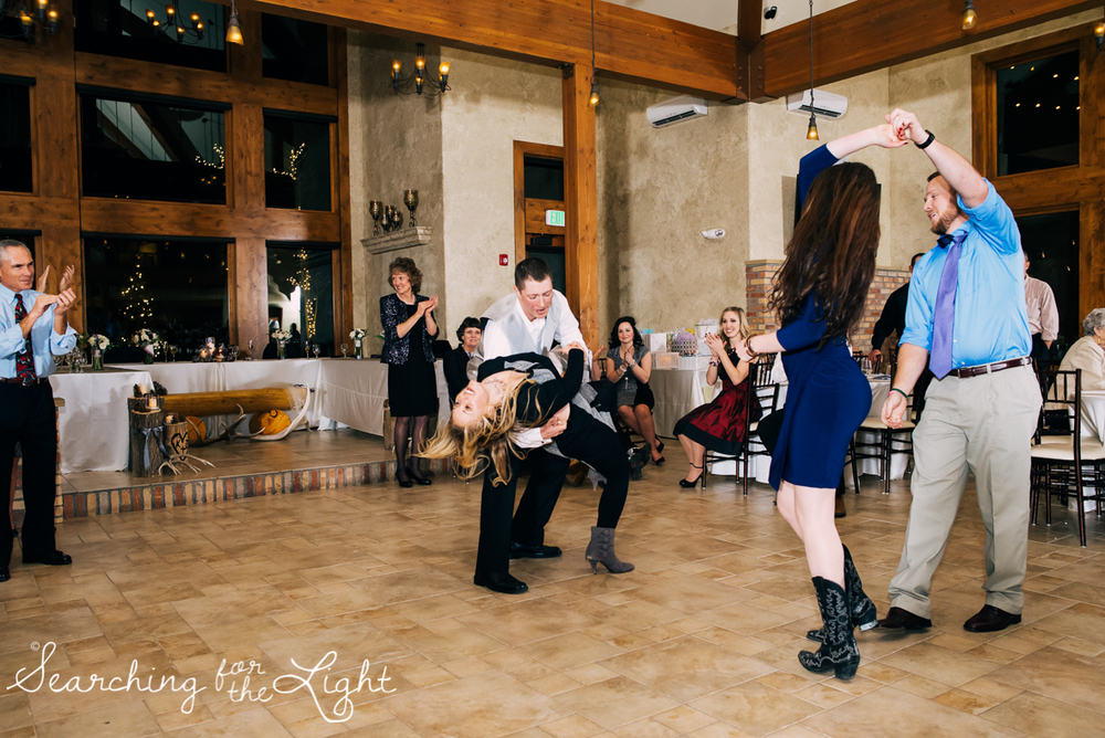 colorado wedding photographer, winter estes park wedding, winter wedding, reception, reception dance photos