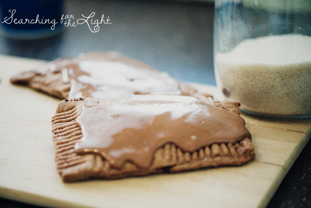 homemade chocolate fudge pop tarts recipe