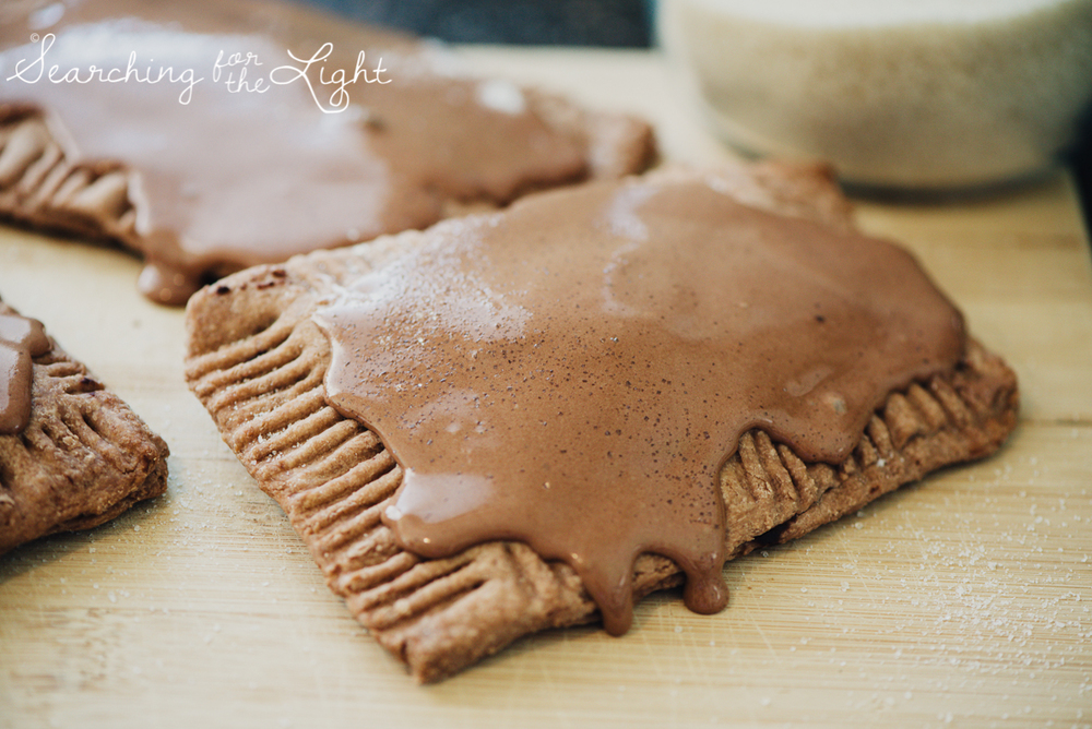 homemade chocolate fudge pop tarts recipe