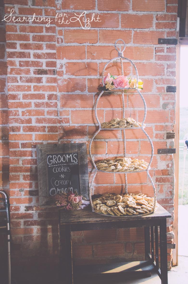 alternative grooms cake ideas, cookie bar, colorado wedding photographer