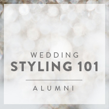 Wedding Styling 101 Alumni