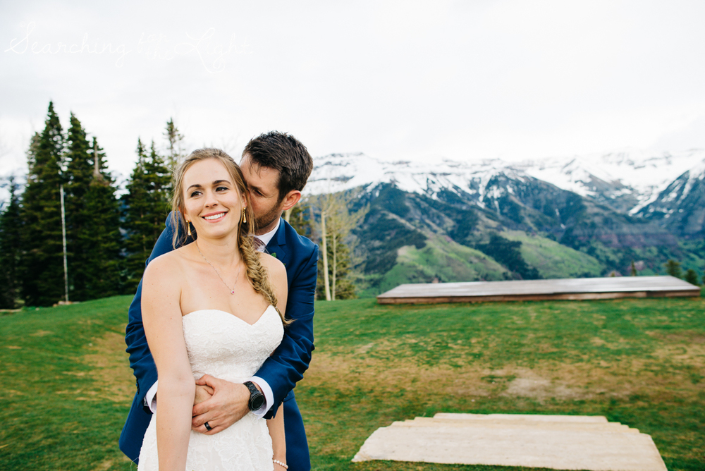 Telluride Elopement Wedding Photographer | Mountain Adventure Wedding Photographers | Adventurous telluride elopement photography