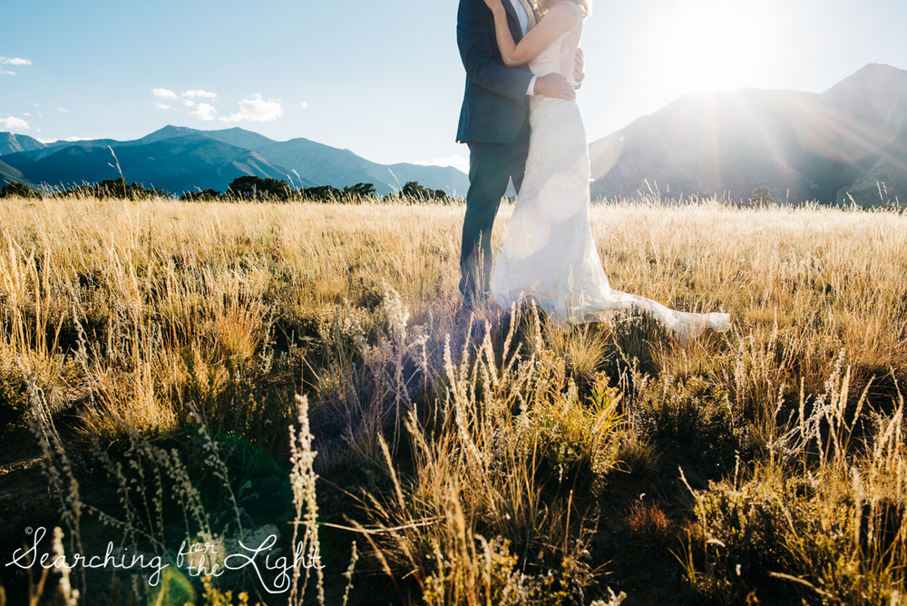 Mount Princeton Colorado Elopement Wedding Photographer | Mountain Adventure Wedding Photographers | Adventurous mount princeton elopement photography