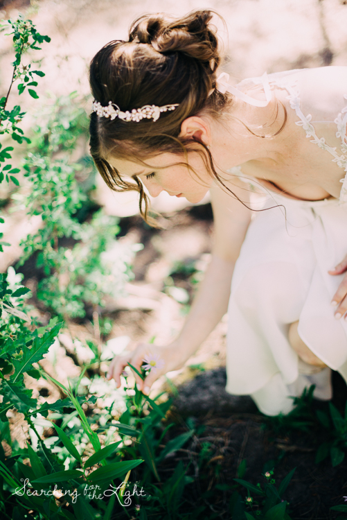 (Not me but a beautiful bride from a mountain wedding I photographed)