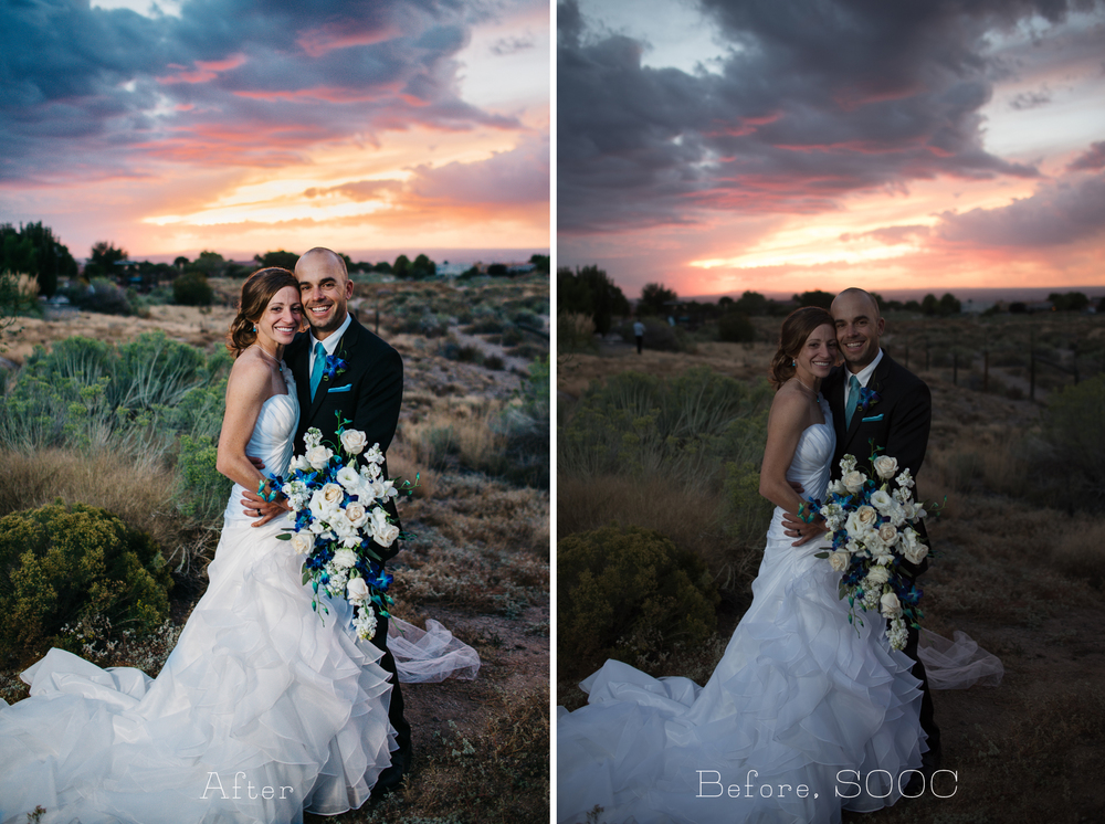 Wedding Scenes Photography: Before & After {Behind The Scenes