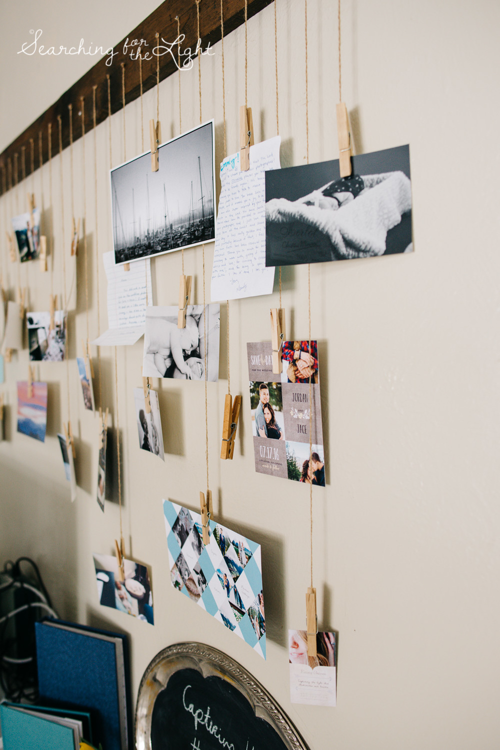 DIY Hanging Picture Collage {Mountain Wedding Photographer ...
