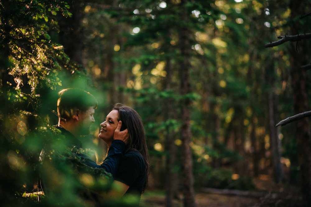 Anniversary Adventure Engagement Couple Photography | Mountain Denver Colorado