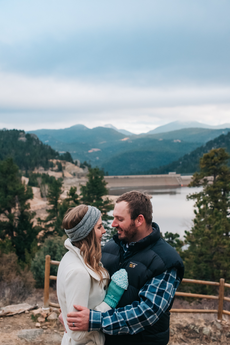 Mountain Colorado Anniversary Celebration | Denver, Colorado Couple Photos