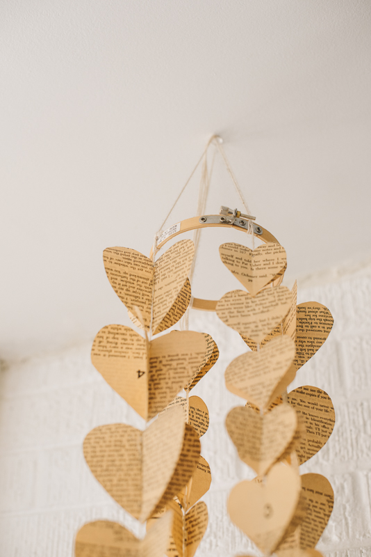 DIY Heart Mobile Instructions | Denver Mountain Colorado  Searching for the Light Photography | Commercial Branding Small Business Photography
