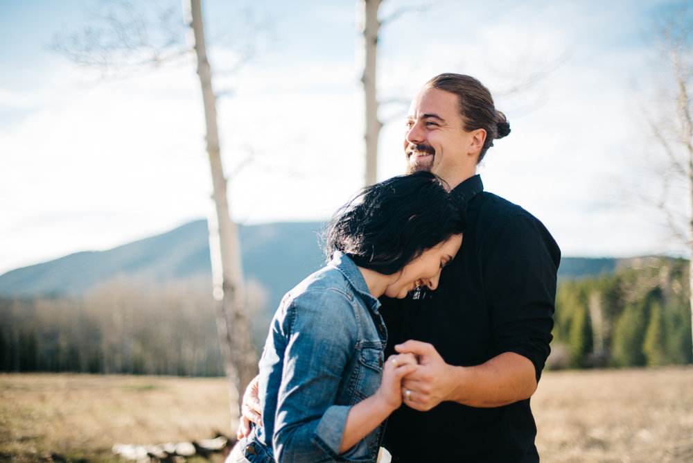 Colorado Mountain Marriage Anniversary Celebration | {Anniversary Couple Photos} | Athmar Park, Denver, Colorado
