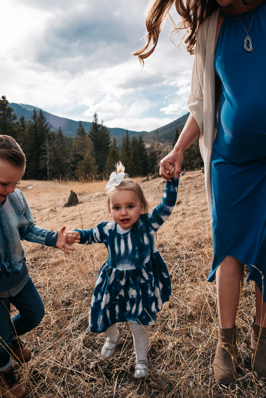 Denver Mountain Colorado Family Photographer Lifestyle fun family photos university Rosedale denver Colorado photographer