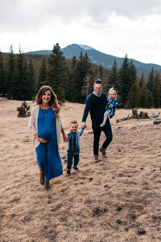 Denver Mountain Colorado Family Photographer Lifestyle fun family photos university Rosedale denver Colo