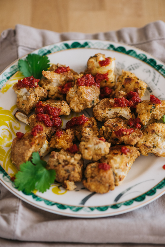 Cauliflower Nugget Dinner Recipe | Paleo, Whole 30, Gluten Free, Vegan Dinner Idea | Denver, Mountain Colorado Photographer