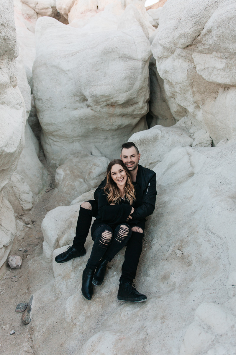 Paint Mines Anniversary Couple Denver, Colorado Photography | {Abbie & Colton Marriage Celebration by Brittany}