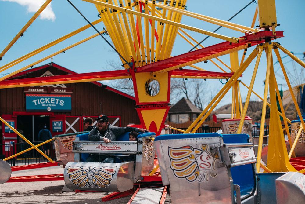Family Fun at Heritage Square Amusement Park Golden Colorado | Denver, Colorado Family Photographer